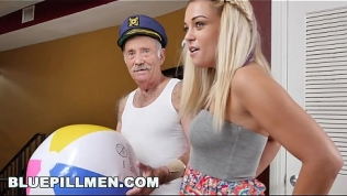 BLUE PILL MEN – Young Kenzie Green Gets Fucked By A Couple Of Dirty Old Men