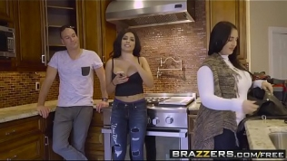 Brazzers – Baby Got Boobs –  The Liar, The Bitch And The Wardrobe scene starring Aaliyah Hadid and S