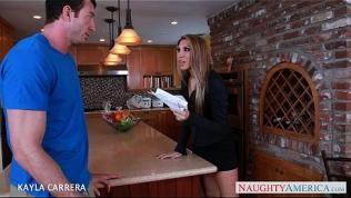 Chesty Kayla Carrera gets pussy fucked