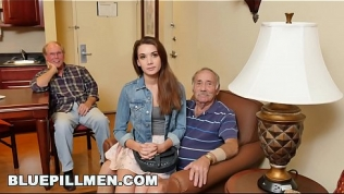 BLUEPILLMEN – Introducing Old Man Duke to Teen Naomi Alice (bpm14870)