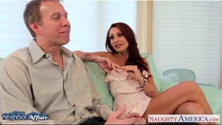 Tattooed babe Monique Alexander fuck her neighbor