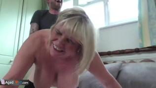 AgedLovE Mature BBW Blonde Alisha Hardcore