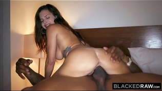 BLACKEDRAW Cheating girlfriend hooks up with black stud HD Porn Video