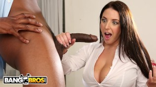 BANGBROS – Busty Angela White Takes Anal From Isiah Maxwell