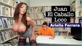 BANGBROS – MILF Teacher Ariella Ferrera Helps Young Juan El Caballo Loco Pass His Class HD Porn Video