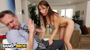 BANGBROS – Step Daughter Aidra Fox Takes Control Of Her Step Father HD Porn Video