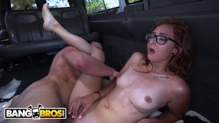 BANGBROS – The Bang Bus Helping Out An Out Of Towner Named Kadence Marie HD Porn Video
