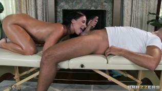Big-booty yoga student Jada Stevens gets a sensual massage HD Porn Video