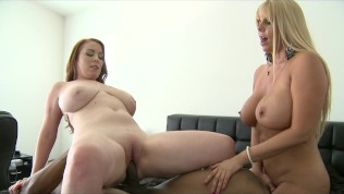 BIG TIT & ASS BLONDE & BRUNETTE MILF HOOKERS FUCK