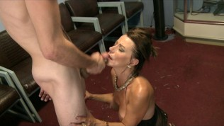 Big-tit MILF gets revenge on her husband & fucks a younger guy