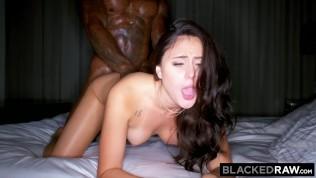 BLACKEDRAW Kinky brunette wife loves black cock in her hotel room