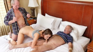 BLUE PILL MEN – Old Man Duke Gets His Dick Wet With Young Escort Naomi Alice