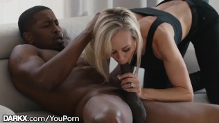 Brandi Love Takes Naughty Young Neighbor's BBC HD Porn Video