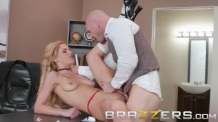 Brazzers – Dirty schoolgirl Aspen Rose gets fucked by teacher HD Porn Video