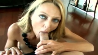 Brenda feasts on the Milf Hunter's infamous cock