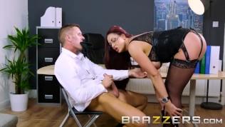 CEO gets a Big Freelance Fuck – Brazzers HD Porn Video