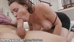 Cougar Mom Dana DeArmond Shows Stepson How She Blows