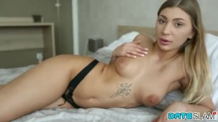 Date Slam – Serbian babe gets creampie on first date – Part I