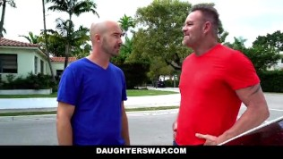 DaughterSwap Teen Daughters Fucked After Exchange- topx247.com