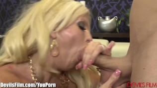 DevilsFilms Busty MILF Pegs her Horny Bitch