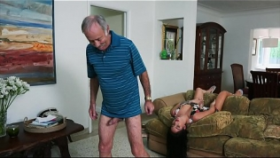 BLUE PILL MEN – We Get Old Man Johnny An Escort (Aria Rose) To Fulfill His Depraved Fantasies