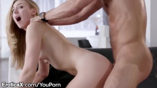 EroticaX Alexa Grace Likes Pussy But She Needs A Man's Dick Now! HD Porn Video
