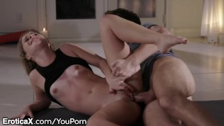EroticaX Teen Spinner Lily Ford Passionately Uses Cock HD Porn Video