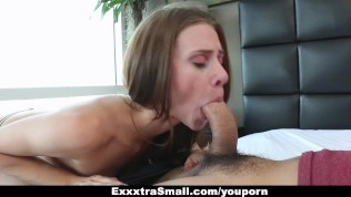 ExxxtraSmall – Extra Small Escort Stretched By A Huge Cock
