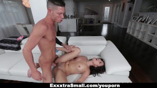 ExxxtraSmall – Tight And Tiny Latina Loves Big Cock!