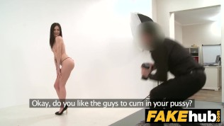 Fake Agent – German Teen babe wants to try Porn