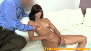 FakeAgent I cum inside fertile young babe for her first creampie- porn6969.com