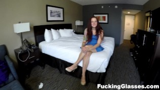 Fucking Glasses – POV sex and doggystyle cumshot HD Porn Video