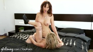 Girlsway Sasha Heart Hate Fucks Her Step-Mommy Free Porn Video