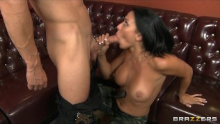 Hardcore brunette babe Rachel Starr is frisked & fucked by a cop HD Porn Video