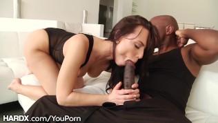 HardX Aidra Meets A Huge Black Cock HD Porn Video