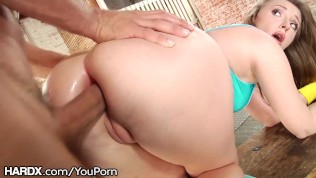 HardX Big Ass White Girl Loves This Daddy's Dick Up Her Anal HD Porn Video