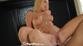 HD – PornPros Blonde Teen Tucker Starr strips to get licked and fucked
