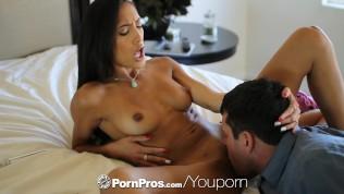 HD PornPros -Chloe Amour caught masturbating and fucks guys dick