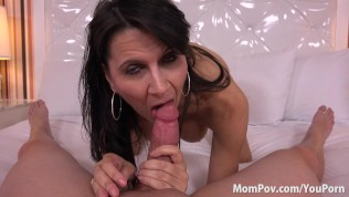 Horny big tits MILF loves anal fucking