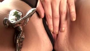Hot brunette babe masturbating – DDF Productions