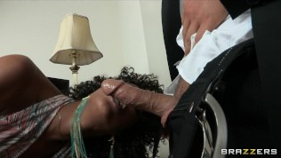Hot ebony nympho seeks sex doctor for help yet sh HD Porn Video