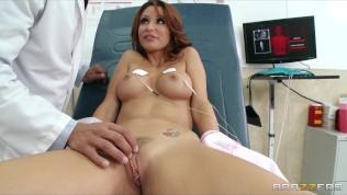 HOT redhead MILF Monique Alexander gets a checkup HD Porn Video