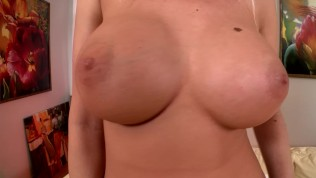 Huge tits, and a huge dildo – DDF Productions