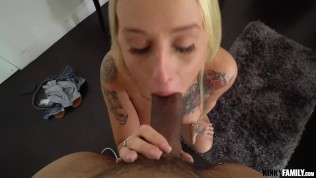 Kinky Family – Layla Love – Stepsis has a slurping pussy