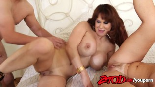 Krissy Lynn and Alyssa Lynn are cougar step sisters looking for a fuck Free Porn Video