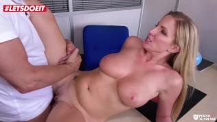 LETSDOEIT – British Slut Gets Nailed By Her French Teacher