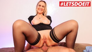 LETSDOEIT – French Milf Picked Up at Supermarket Gets Rough Anal