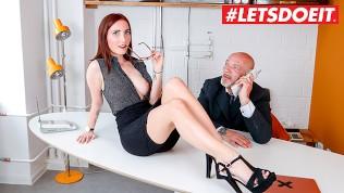 LETSDOEIT – German Cute Secretary Fucked Hard By Older Boss