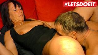 LETSDOEIT – Kinky Gilf Loves Her Husbands Big Cock