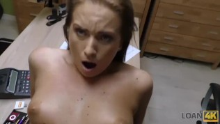 LOAN4K. Bad agent fucks good student girl and approves her documents HD Porn Video